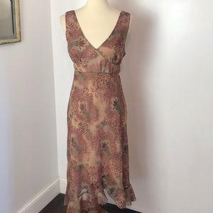 New York & Company Paisley Midi Dress 12